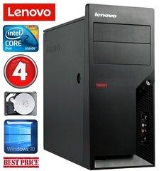 Lenovo M58e MT E7500 4GB 250GB Win10 hind ja info | Lenovo M58e MT E7500 4GB 250GB Win10 | kaup24.ee