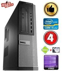 DELL 790 DT i5-2500 4GB 120SSD+2TB DVDRW WIN10Pro hind ja info | DELL 790 DT i5-2500 4GB 120SSD+2TB DVDRW WIN10Pro | kaup24.ee