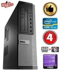 DELL 790 DT i5-2500 4GB 240SSD+500GB DVDRW WIN10Pro hind ja info | DELL 790 DT i5-2500 4GB 240SSD+500GB DVDRW WIN10Pro | kaup24.ee