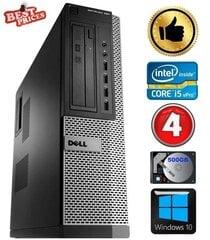 DELL 790 DT i5-2500 4GB 500GB DVDRW WIN10 hind ja info | DELL 790 DT i5-2500 4GB 500GB DVDRW WIN10 | kaup24.ee