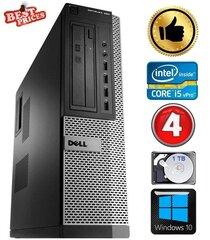 DELL 790 DT i5-2500 4GB 1TB DVDRW WIN10 hind ja info | DELL 790 DT i5-2500 4GB 1TB DVDRW WIN10 | kaup24.ee