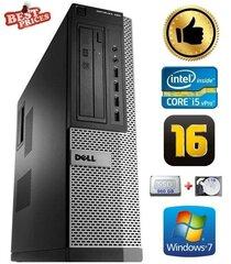DELL 790 DT i5-2500 16GB 960SSD+1TB DVDRW WIN7Pro hind ja info | Lauaarvutid | kaup24.ee