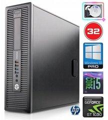 HP 600 G1 SFF i5-4570 32GB 1TB GT1030 2GB WIN10Pro hind ja info | HP 600 G1 SFF i5-4570 32GB 1TB GT1030 2GB WIN10Pro | kaup24.ee