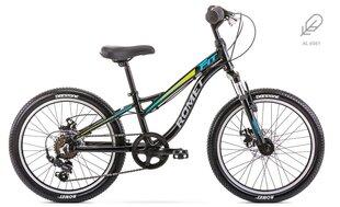 "Laste jalgratas Romet Rambler Fit Alu 20"" 2020, must hind ja info | Laste jalgratas Romet Rambler Fit Alu 20"" 2020, must | kaup24.ee"
