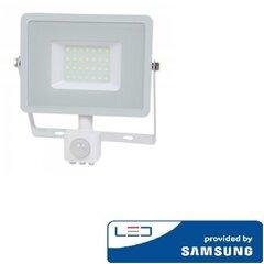 Светодиодный прожектор V-tac, 3000K, 30 Вт цена и информация | Уличное освещение | kaup24.ee
