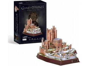 3D pusle CubicFun Game of Thrones Red Keep 314 o. hind ja info | 3D pusle CubicFun Game of Thrones Red Keep 314 o. | kaup24.ee