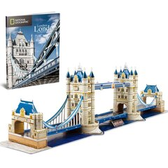3D pusle Tower bridge CubicFun National Geographic, 131 osa hind ja info | 3D pusle Tower bridge CubicFun National Geographic, 131 osa | kaup24.ee