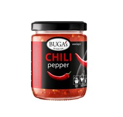 Jahvatatud terav paprika BUGA's , 160 g hind ja info | Kastmed | kaup24.ee