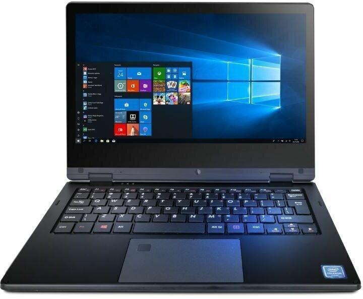 Sülearvuti Techbite ARC 11.6/N4000/4GB/64GB/INTELUHD/W10 Pro black
