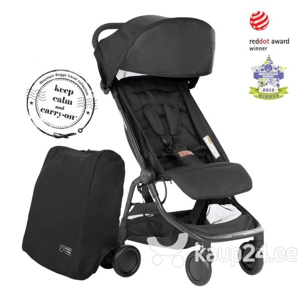 Reisikäru MOUNTAIN BUGGY NANO™ (2020+), must