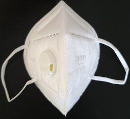 Respiraator KN95 (FFP2) koos integreeritud ventiiliga (10 tk komplektis) hind ja info | Meditsiini tarvikud | kaup24.ee