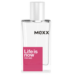 Tualettvesi Mexx Life is Now For Her EDT naistele 30 ml hind ja info | Tualettvesi Mexx Life is Now For Her EDT naistele 30 ml | kaup24.ee
