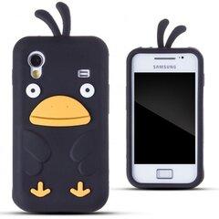 Kaitseümbris Zooky sobib Samsung Galaxy Ace S5830, 3D kana, must