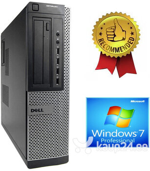 Dell Optiplex DT 790 i5-2400S 4GB 120GB SSD 2TB HDD DVDRW Windows 7 Pro hind ja info | Lauaarvutid | kaup24.ee