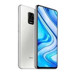 Xiaomi Redmi Note 9 Pro,128 GB, Dual SIM, White hind ja info | Mobiiltelefonid | kaup24.ee