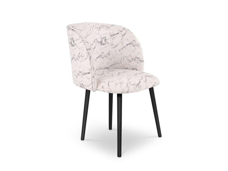 4 tooli komplekt Milo Casa Adele, valge/must hind