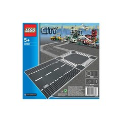 7280 LEGO® CITY Straight And Crossroad Plates