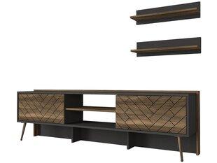 Sektsioon Kalune Design Strato, hall/pruun цена и информация | Мебель для гостиной | kaup24.ee