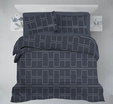 Satiinist voodipesukomplekt, 3-osaline hind ja info | Voodipesukomplektid | kaup24.ee