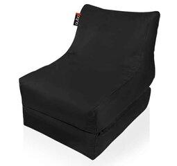 Lahtikäiv kott-tool Qubo™ Conseres, gobelään, must hind ja info | Kott-toolid, tumbad, järid | kaup24.ee