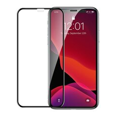 Baseus 0.23mm curved-screen tempered glass screen protector with crack-resistant edges For iPX/XS Black (SGAPIPH58-APE01) hind ja info | Baseus 0.23mm curved-screen tempered glass screen protector with crack-resistant edges For iPX/XS Black (SGAPIPH58-APE01) | kaup24.ee