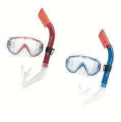 Sukeldumiskomplekt Bestway Hydro-Swim Blue Devil, sinine/punane hind ja info | Snorgeldamise komplektid | kaup24.ee