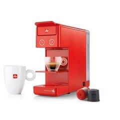 ILLY kohvimasin Y3 + 14 kapslit (punane) hind ja info | Espressomasinad ja kohvimasinad | kaup24.ee