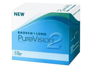Pure Vision 2HD kontaktläätsed 8.6, 6 tk. hind ja info | Optika | kaup24.ee