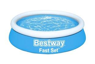 Sammasbassein lastele Bestway Fast Set, 183x51 cm, sinine hind ja info | Basseinid | kaup24.ee