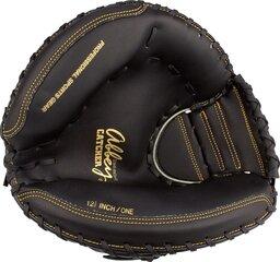 Бейсбольная перчатка Abbey 23HT, черная цена и информация | Товары для игры в бейсбол | kaup24.ee