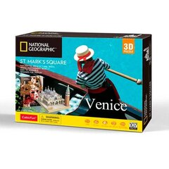 "3D pusle CubicFun ""National Geographic Venice ST Mark's Square"", 107-osaline hind ja info 