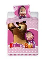 Laste voodipesukomplekt Maša ja Karu, 100x135, 2-osaline hind ja info | Laste voodipesukomplekt Maša ja Karu, 100x135, 2-osaline | kaup24.ee
