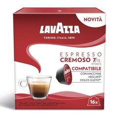 Lavazza Espresso Cremoso, 16 капсул для аппаратов Dolce Gusto. цена и информация | Lavazza Espresso Cremoso, 16 капсул для аппаратов Dolce Gusto. | kaup24.ee