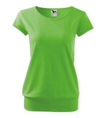 City футболка для женщин яблоко зеленая цена и информация | Женская футболка | kaup24.ee
