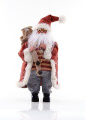 DecoKing рождественская декорация Дед Мороз, 43 см цена и информация | DecoKing рождественская декорация Дед Мороз, 43 см | kaup24.ee