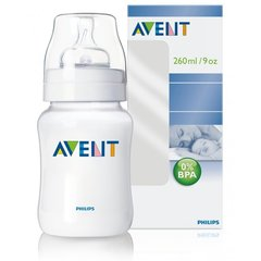 Lutipudel Philips Avent Classic, 260 ml