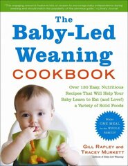 Baby-Led Weaning Cookbook: Delicious Recipes That Will Help Your Baby Learn To Eat Solid Foods--And That The Whole Family Will Enjoy цена и информация | Книги на иностранных языках | kaup24.ee