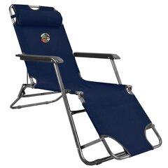 Туристическое кресло-шезлонг Spokey Tampico, синее цена и информация | Туризм | kaup24.ee