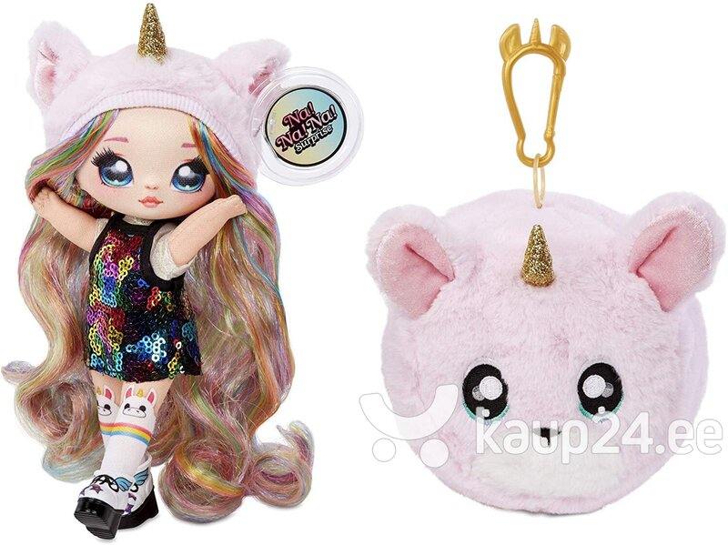 Na! Na! Na! Surprise 2-in-1 Fashion Doll & Plush Pom with Confetti Balloon tagasiside