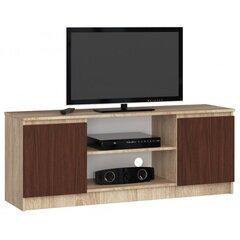 TV laud NORE RTV K140, tamme värvi/pruun hind ja info | TV alused | kaup24.ee