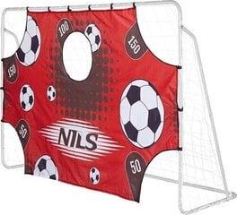 Jalgpallivärava eesmärk Nils MDC01, punane hind ja info | Jalgpalliväravad ja -võrgud | kaup24.ee