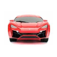 Raadio teel juhitav automudel Simba Jada Toys Fast & Furious Lykan Hypersport 1:16 hind ja info | Poiste mänguasjad | kaup24.ee
