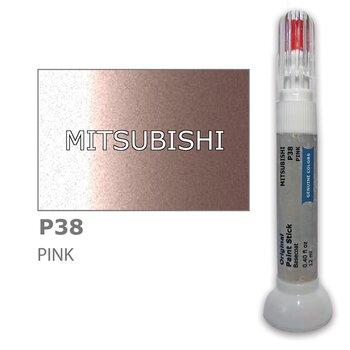 Карандаш-корректор для устранения царапин MITSUBISHI P38 - PINK 12 ml цена и информация   Автомобильная краска   kaup24.ee