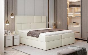 Кровать NORE Florence, 185x200 см, кремовая цена и информация | Кровать NORE Florence, 185x200 см, кремовая | kaup24.ee