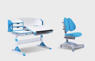 Ergonoomiline laua- ja toolikomplekt iStudy E120, sinine hind ja info | Arvutilauad, kirjutuslauad | kaup24.ee