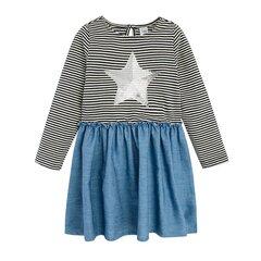 Cool Club kleit pikkade varrukatega tüdrukutele, CCG2110068 hind ja info | Tüdrukute kleidid | kaup24.ee