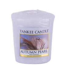 Lõhnaküünal Yankee Candle Autumn Pearl 49 g hind ja info | Küünlad, küünlajalad | kaup24.ee