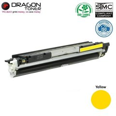 Tooner Dragon sobib laserprinterile Canon i-SENSYS 7010, i-SENSYS 7018C ja HP MFP M175A, MFP M175NW, MFP M275NW, Laser Jet PRO CP1025, kollane