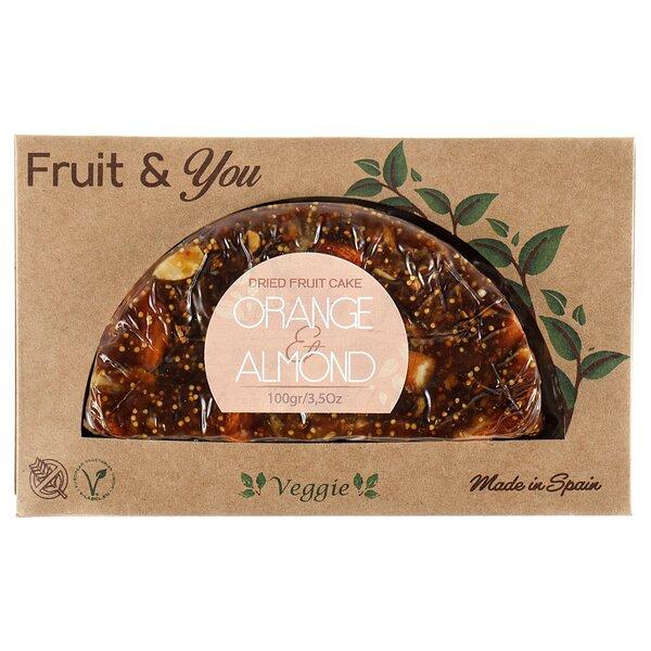 Fruit & Fruit пирог с апельсинами и инжиром 100г, Испания