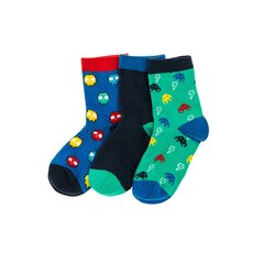 Poiste sokid Cool Club, 3 paari, CHB2120499-00 hind ja info | Poiste sukkpüksid ja sokid | kaup24.ee